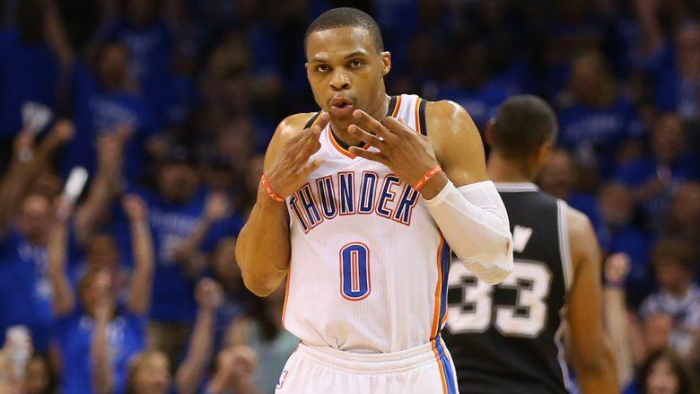Westbrook i pandalshëm, regjistron 'triple-double' e 33-të sezonal në NBA (Video)