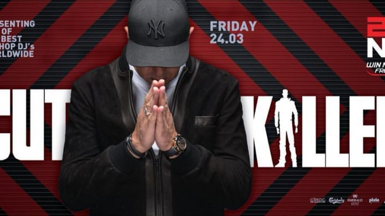 Sensacioni i hip hopit botëror, DJ Cut Killer, më 24 mars ateron në Zone