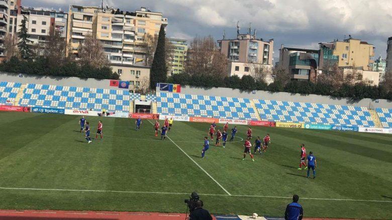 Shqipëria U-21 mposht Moldavinë