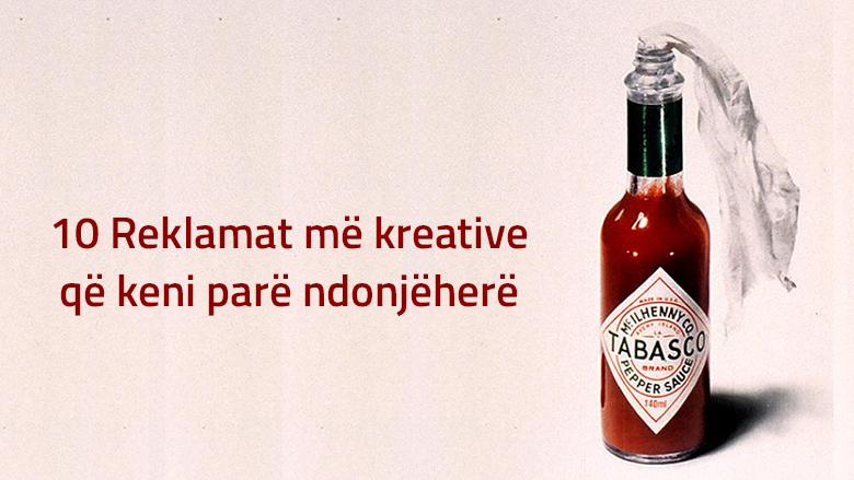 10 reklamat më kreative që keni parë ndonjëherë (Foto)