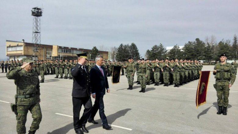 Thaçi: Ushtria e Kosovës së shpejti realitet
