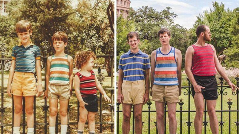Njerëzit që u kthyen pas në kohë përmes imazheve (Foto)