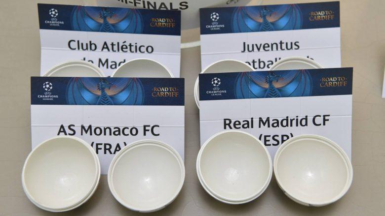 Statistikat e katër skuadrave gjysmëfinaliste dhe përballjet mes tyre
