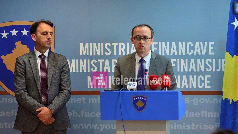 Ministria e Financave publikon online shpenzimet e buxhetit