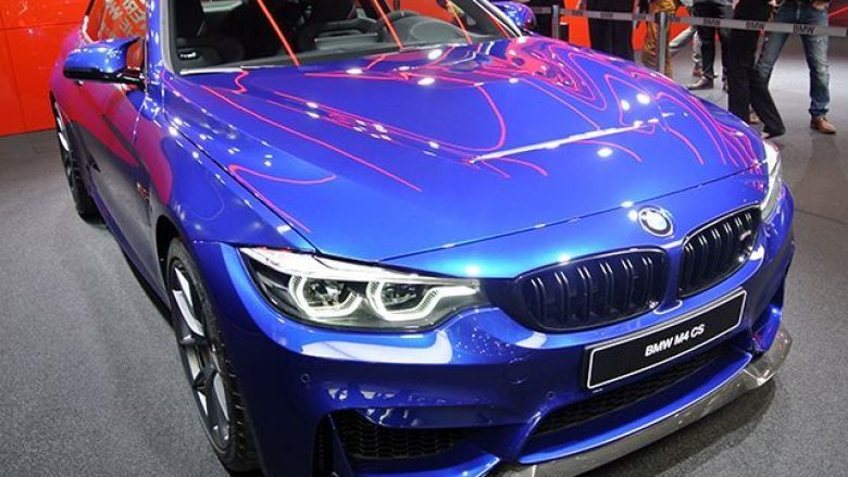 BMW prezanton modelin M4 CS që ka 460 kuajfuqi (Foto)