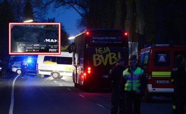 Tri shpërthime afër autobusit të BVB-së, publikohen edhe pamjet e para të autobusit (Foto)