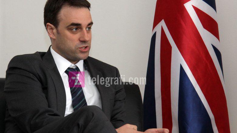 Ambasadori britanik thotë se disa shtete kanë tërhequr njohjet për Kosovën