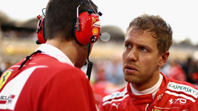 Vettel triumfon në Bahrain dhe kalon Hamiltonin (Foto/Video)