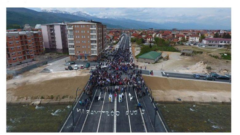 Lëshohet në përdorim ura me katër korsi në Gostivar (Video)
