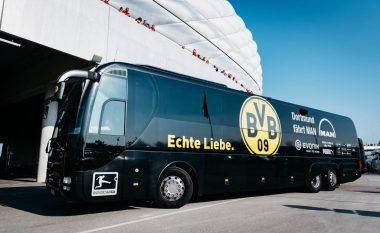 Një shpërthim në momentin e nisjes së autobusit të Dortmundit
