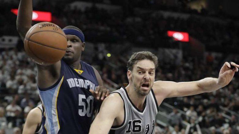 Spurs, leksione për Memphisin, Jazz fitore në sekondën e fundit ndaj Clippers (Video)