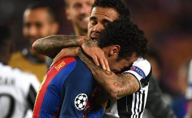 Lojtarët e Juves e ngushëlluan Neymarin (Foto)