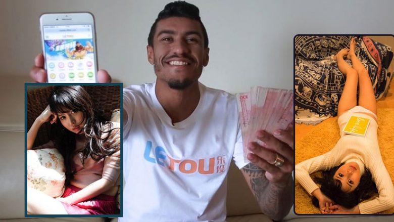 Paulinho në një skandal seksual dhe të bixhozit me aktoren pornografike (Foto)