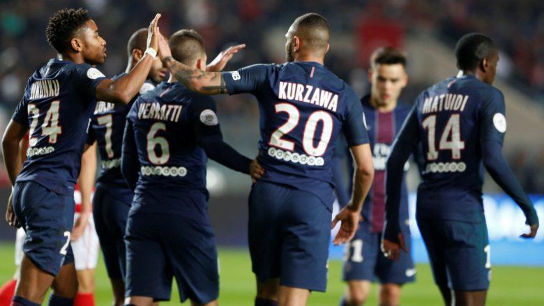 Metz–PSG, formacionet zyrtare – Balliu do të tentojë ta ndal Neymarin
