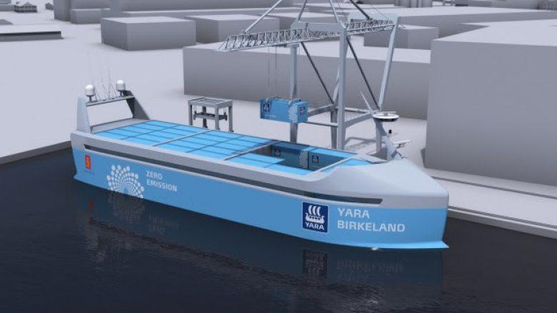 Norvegjia ndërton anijen e parë elektrike vetëngarkuese