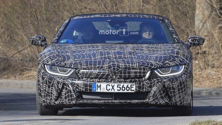 Spiunohet BMWi8 Spyder (Foto)