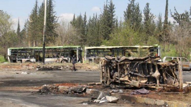 SHBA bombardon konvojin e forcave pro-regjimit sirian