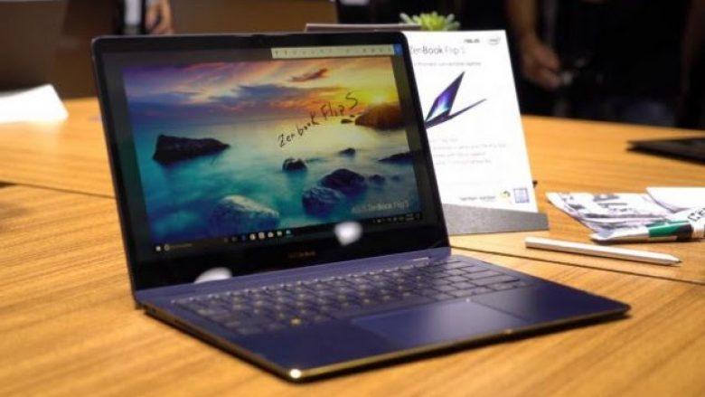 Prezantohet laptopi më i hollë në botë