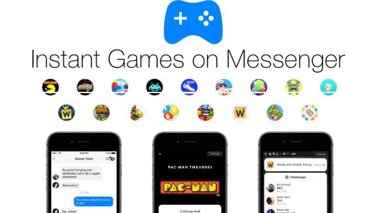 Instant Games tani në Facebook Messenger në mbarë botën