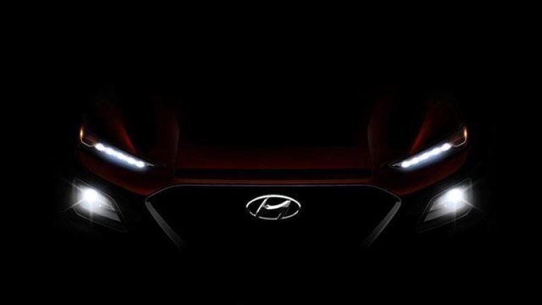 Hyundai Kona zbulohet gjatë realizimit të reklamës (Foto)