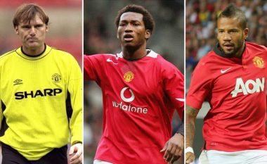 Formacioni i Unitedit me lojtarët më të dobët në epokën e Ligës Premier (Foto)