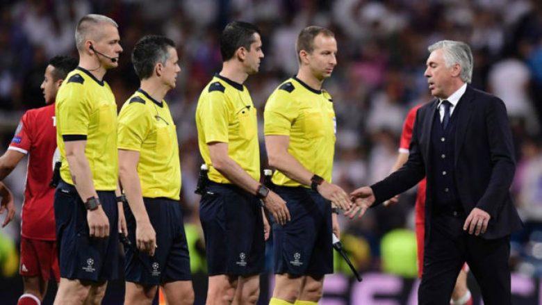 Ancelotti nuk e harron humbjen nga Real Madridi, e quan padrejtësi e madhe
