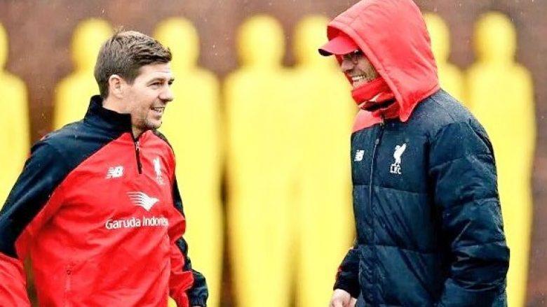Klopp kërkon që Gerrard të jetë pasuesi i tij te Liverpooli