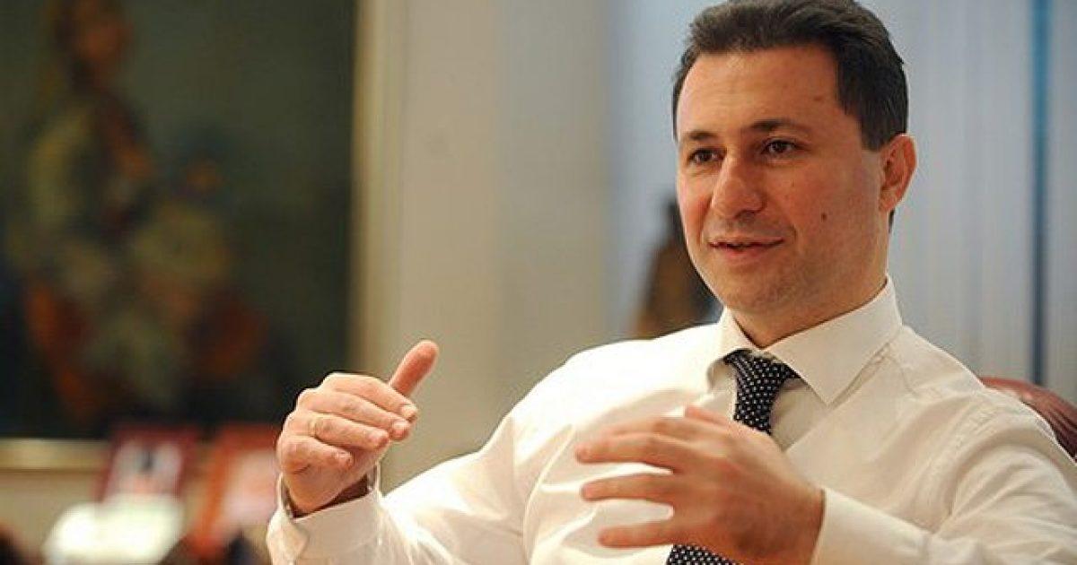Gruevski në intervistë në një televizion të Kosovës