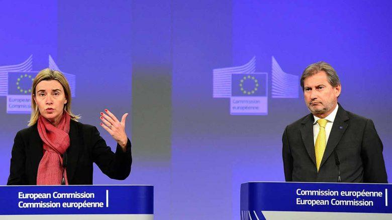 Mogherini dhe Hahn përshëndesin marrëveshjen