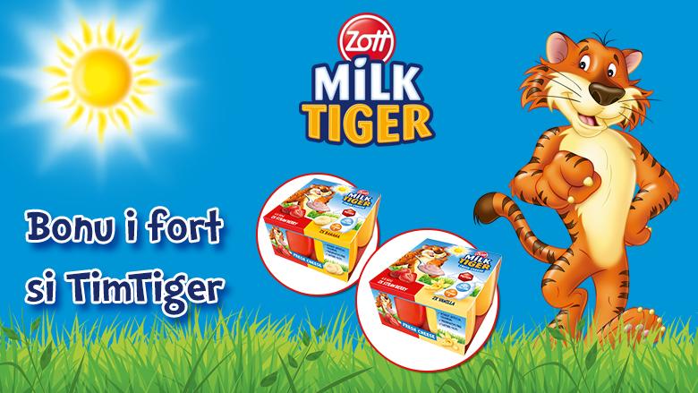 Zott Milk Tiger – kënaqësi qumështi i shumëllojshëm për fëmijë