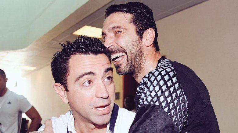 Xavi: Buffon duhet ta fitojë Topin e Artë