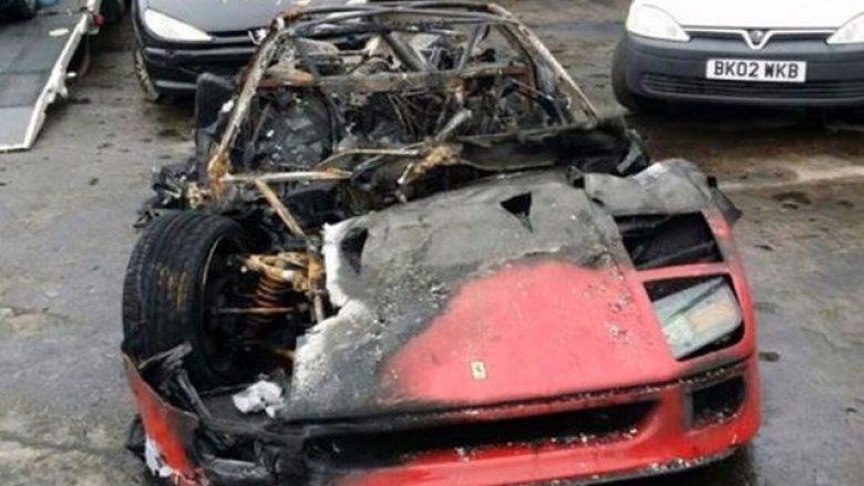 Diktatori Hussein e dënoi të birin duke ia djegur tërë koleksionin e veturave (Foto)