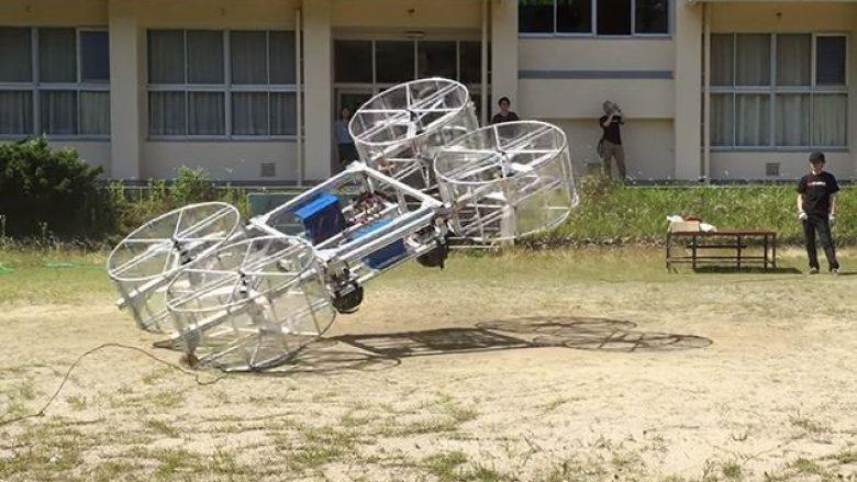 Makina fluturuese nga Toyota, nuk ia doli të niset (Video)