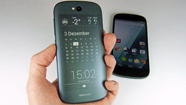 YotaPhone vjen me çmim fillestar prej 350 dollarëve