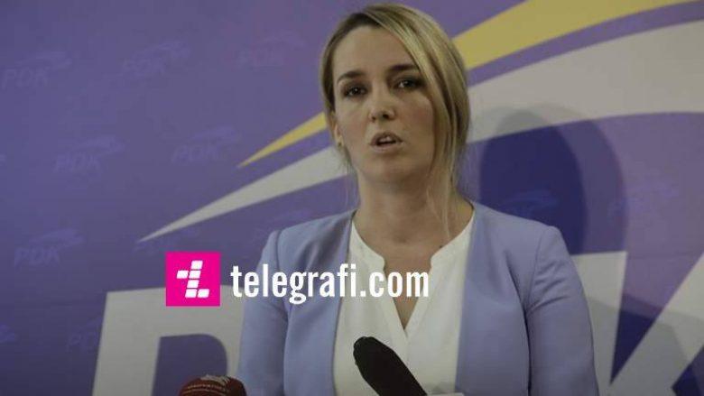 PDK e quan të vonuar arrestimin e personit që thuhet se kërcënoi Arbana Xharrën
