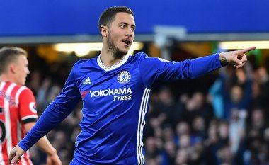 Eden Hazard: Për momentin jam i lumtur te Chelsea