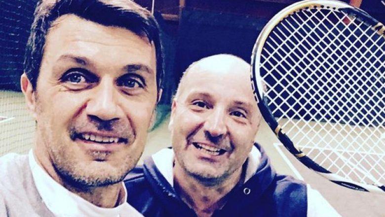 Maldini kualifikohet në një turne profesional tenisi (Foto)