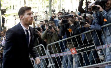 Messi paguan gjobën për t'iu shmangur burgut nga ikja e tatimeve (Foto)