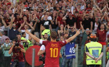 UEFA i ndan çmim special për arritje dhe besnikëri ndaj klubit Francesco Tottit (Foto)