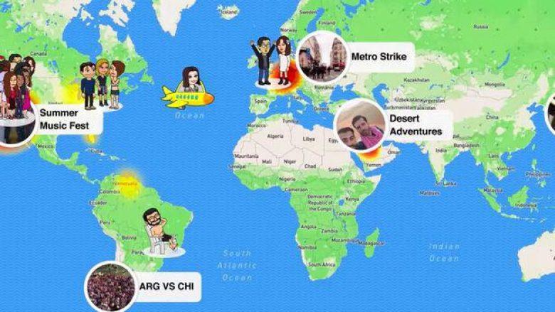 SnapChat shkel privatësinë