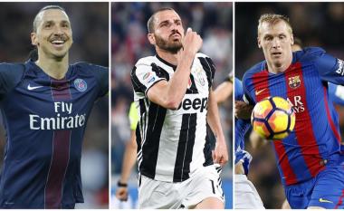Top 10 futbollistët mbi 30 vjeç më të kushtueshëm në botën e futbollit (Foto)