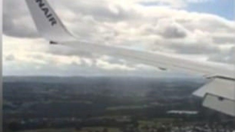 Aterrimi i rrezikshëm i pilotit të pakujdesshëm (Video)