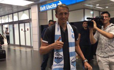 Lucas Leiva arrin në Romë, i lumtur për kalimin te Lazio (Foto)