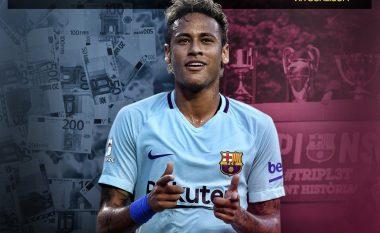 Pique shpjegon arsyen e postimit me Neymarin në rrjetet sociale dhe pyet brazilianin: Dëshiron më shumë paratë apo titujt?