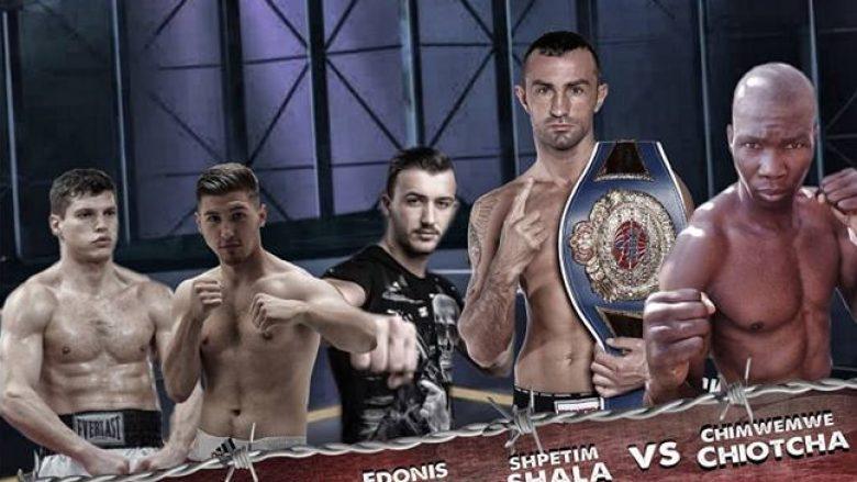 Mbrëmje boksi në Pejë: Shpëtim Shala kundër Chiotchan