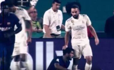 Tërheqje flokësh, ndërhyrje të ashpra, e inate mes lojtarëve: Ana e errët e miqësores se Realit dhe Barçës në Miami (Video)