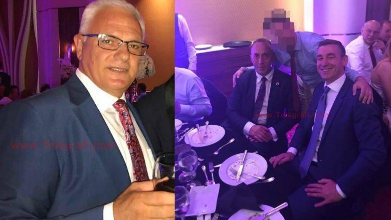 Haradinaj dhe Veseli krah për krah në dasmën e djalit të Adem Grabovcit (Foto)