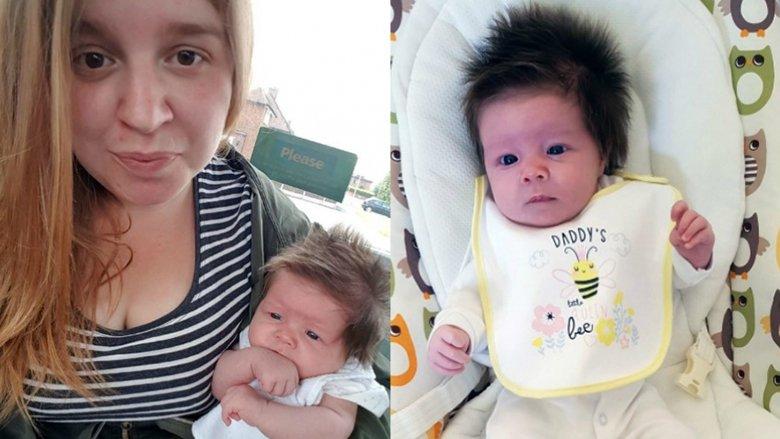 Bebja ka befasuar të gjithë menjëherë pas lindjes: Fotografitë e saj me të drejtë pushtuan botën! (Foto, Video)