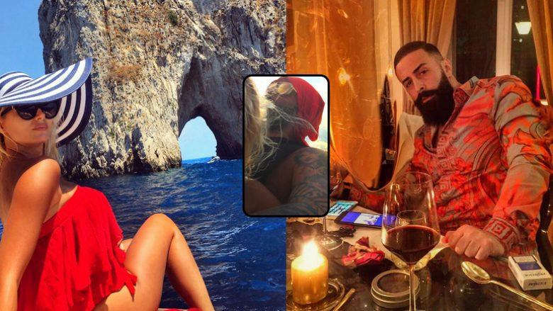 Geti dhe Marina tërheqin vëmendje me pozën në Capri (Foto)