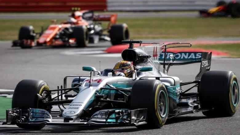 "Hamilton ""pole position"" në Silverstone"